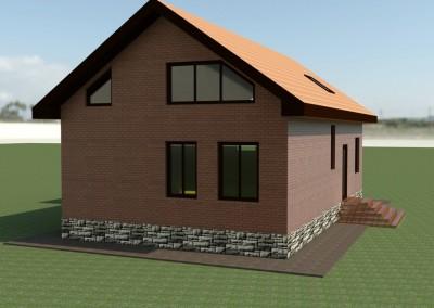 Реконструкция дома №2