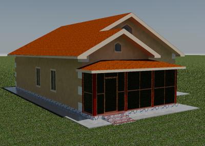 Реконструкция дома №1