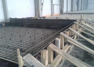 Устройство фундамента на объекте Завод двигателей КАМАЗ