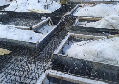 Устройство фундамент в 65 микрорайоне под 10-ти этажный жилой дом в Набережных Челнах